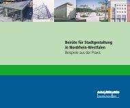 Beiräte für Stadtgestaltung in Nordrhein-Westfalen Beispiele aus der ...