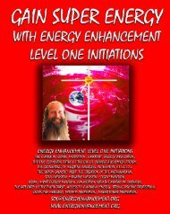 ENERGY ENHANCEMENT Initiation 4 SUPER ADVANCED  ...