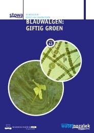 BLAUWALGEN: GIFTIG GROEN - Stowa
