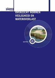 05 overzicht normen veiligheid en wateroverlast - Stowa