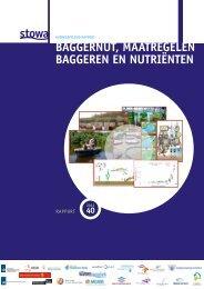 Baggernut, maatregelen baggeren en nutriënten ... - Stowa