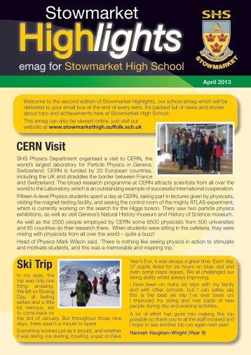 Highlights - Stowmarket High School