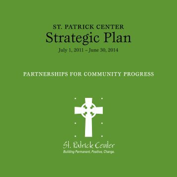 read the Strategic Plan document - St. Patrick Center