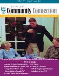 Community Connection · Winter 2013 - St. Paul's Senior Homes ...