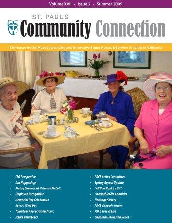 Community Connection · Summer 2009 - St. Paul's Senior Homes ...
