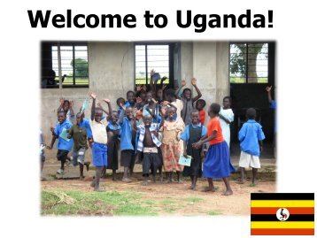 Welcome to Uganda! - St Paul's C of E (Aided) Primary School