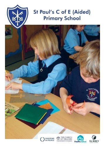 Prospectus - St Paul's C of E (Aided) Primary School