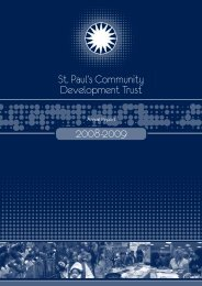 St. Paul's Community Development Trust - St. Paul's Community Trust