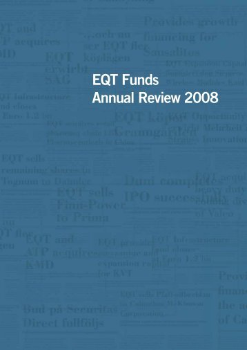 EQT Funds Annual Review 2008