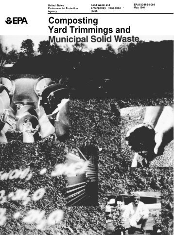 Composting Yard Trimmings and Municipal Solid Waste