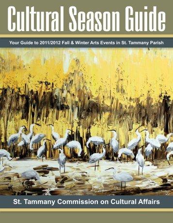 Cultural Season Guide - St. Tammany Parish Government