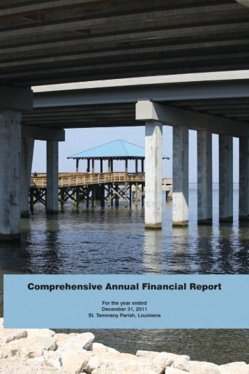 comprehensive annual financial report - St. Tammany Parish ...