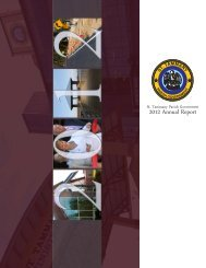 2012 Annual Report - St. Tammany Parish Government