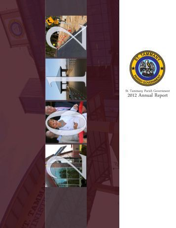 2012 Annual Report - St. Tammany Parish Government