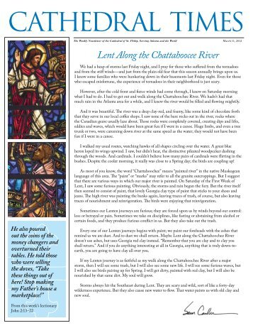 CATHEDRAL TIMES - The Cathedral of St. Philip