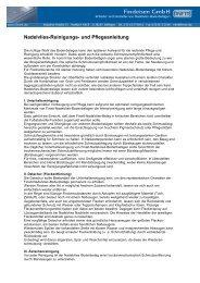 Nadelvlies-Reinigungs- und Pflegeanleitung - esper-online.de