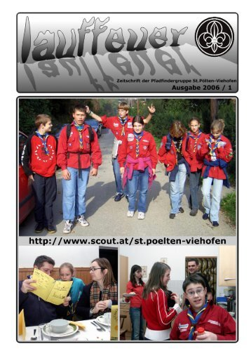 Ausgabe 2006/01 - Pfadfindergruppe St. Pölten-Viehofen