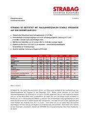 STRABAG SE_HY10_Pressemitteilung.pdf - STRABAG AB