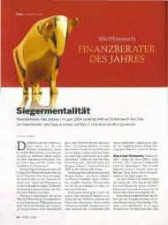 Pressebericht - Strack Investment