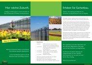 Flyer: Hier wächst Zukunft - in Straelen