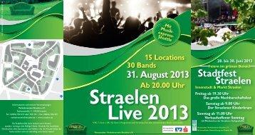 Stadtfest Straelen - in Straelen