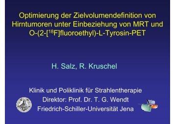 Salz_IGRT_PET in der Bestrahlungsplanung.pdf - Strahlentherapie