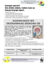 Arbeitsblatt Energie Sparen 1