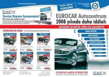 Tavsiye Kuponu kampanyas?! - Eurocar Autozentrum