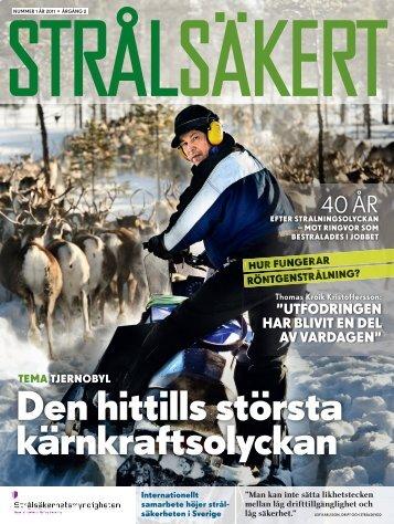 Strålsäkert nr 1, 2011 (Tidskrift) - Strålsäkerhetsmyndigheten