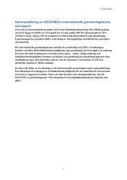 Sammanfattning av OECD/NEA:s internationella granskningsteams ...
