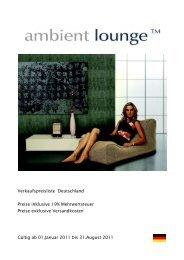 Verkaufspreisliste Deutschland Preise inklusive ... - Strandkorb & Co.