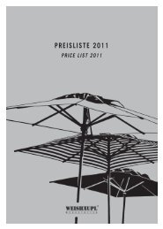 PREISLISTE 2011 - Strandkorb & Co.