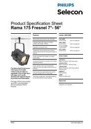 Rama 175 Fresnel 7°- 56 - Strand Lighting