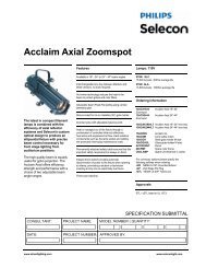 Acclaim Axial Zoomspot - Strand Lighting