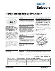 Aureol Recessed BeamShaper - Strand Lighting
