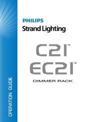Section 3 - Programming the C21/EC21 Dimmer ... - Strand Lighting