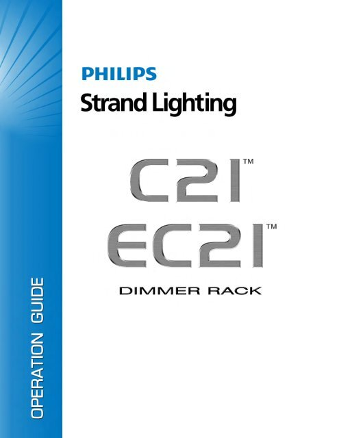 Section 3 - Programming the C21/EC21 Dimmer     - Strand