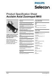 Acclaim Axial Zoomspot MKII - Strand Lighting