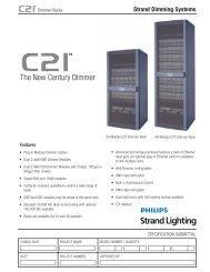 The New Century Dimmer - Strand Lighting