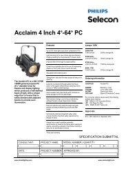 Acclaim PC - Strand Lighting