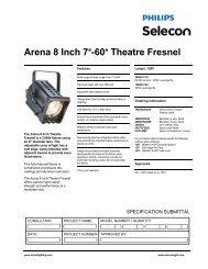 Arena Theatre Fresnel - Strand Lighting