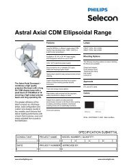 Astral Axial CDM Ellipsoidal - Strand Lighting