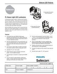 PL House Light LED Luminaires - Strand Lighting
