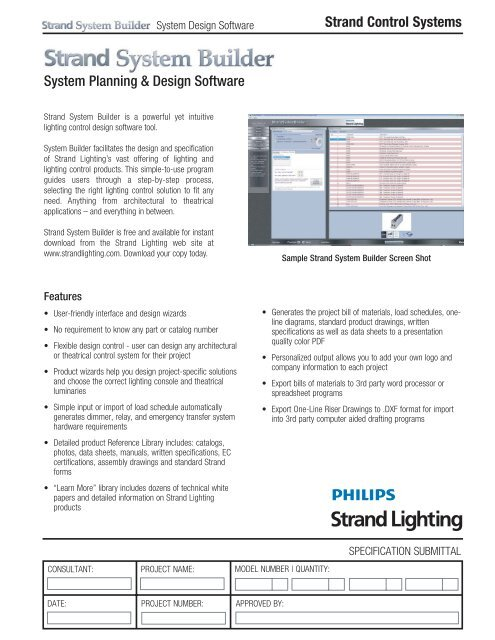 Strand Control Systems System Planning Design Strand Lighting