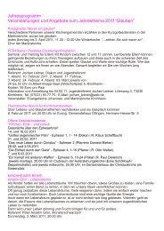 Sammlung Glauben 2011 Web - Evangelische Kirche in Kirchheim u ...