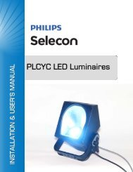 2. PLCYC LED Luminaire Dimensions - Strand Lighting