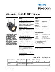 Acclaim Fresnel - Strand Lighting