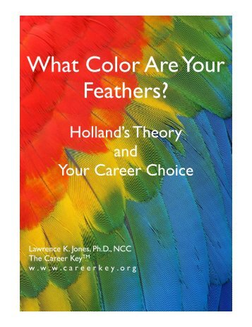What Color Are Your Feathers - Career Key