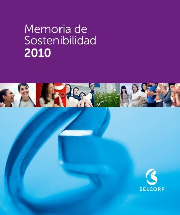 Memoria de Sostenibilidad 2010 - Belcorp