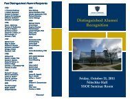 Event Program - College of Engineering - The University of Toledo
